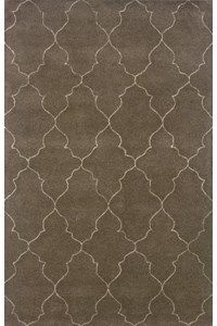 Shaw Living Arabesque Coventry (Polished Copper) Round 7'5