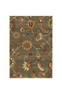 Shaw Living Transitions Fleur (Espresso) Rectangle 5'5