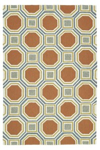 Nourison Nourtex India House (IH19-GLD) Rectangle 8'0