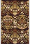 Nourison Collection Library Living Treasures (LI01-RUS) Runner 2'6