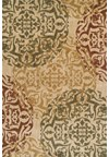 Nourison Collection Library Living Treasures (LI02-MTC) Runner 2'6