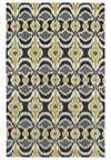 Nourison Collection Library Saffira (SA03-GLD) Runner 2'3
