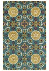 Nourison Collection Library Saffira (SA05-BRN) Rectangle 5'6