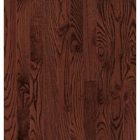 "Bruce Dundee Strip Oak: Cherry 3/4"" x 2 1/4"" Solid Oak Hardwood CB218"