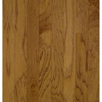 "Bruce American Treasures Hickory: Oxford Brown 3/4"" x 5"" Solid Hickory Hardwood C5717"