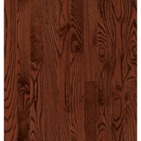 "Bruce Dundee Plank Red Oak: Cherry 3/4"" x 4"" Solid Red Oak Hardwood CB4218Y"