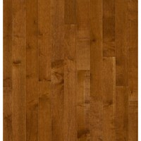 "Bruce Kennedale Prestige Plank Maple: Sumatra 3/4"" x 5"" Solid Maple Hardwood CM5735Y"
