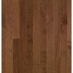 "Bruce American Treasures Hickory: Plymouth Brown 3/4"" x 3 1/4"" Solid Hickory Hardwood C0788"