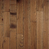 "Bruce Ellington Plank Rustic Oak: Antique 3/4"" x 3 1/4"" Solid Oak Hardwood CR3455"