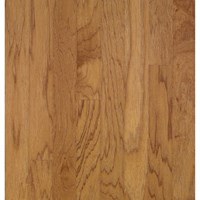 "Bruce Turlington Lock&Fold Hickory: Golden Spice/Smokey Topaz 3/8"" x 5"" Engineered Hickory Hardwood EHK78LG"