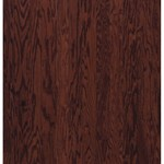 "Armstrong Beckford Plank: Cherry Spice 3/8"" x 3"" Engineered Oak Hardwood BP421CSLGY"