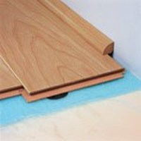 "Quick-Step Eligna: Quarter Round Chocolate Walnut Plank - 94"" Long"