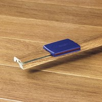 "Quick-Step Eligna: Incizo Trim Chocolate Walnut Plank - 84"" Long"