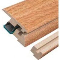 "Columbia Beacon Oak with Uniclic: Incizo Trim Honey - 84"" Long"