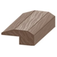 "Columbia Berkshire Distressed: Threshold Acorn Hickory - 84"" Long"