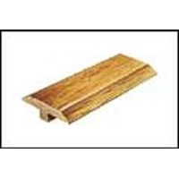 "Mannington Arrow Rock Hickory: T-mold Ember - 84"" Long"