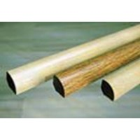 "Mannington American Maple: Quarter Round Fawn - 84"" Long"