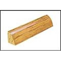 "Mannington Blue Ridge Hickory: Quarter Round Spice - 84"" Long"