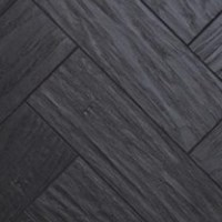Karndean Art Select: Black Oak Parquet Luxury Vinyl Tile AP03