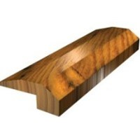 "Shaw Pebble Hill: Threshold Weathered Saddle Hickory - 78"" Long"