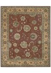 Capel Rugs Creative Concepts Cane Wicker - Canvas Royal Navy (467) Octagon 6' x 6' Area Rug