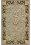 Capel Rugs Creative Concepts Cane Wicker - Linen Chili (845) Octagon 6' x 6' Area Rug