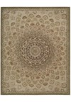 Capel Rugs Creative Concepts Cane Wicker - Shadow Wren (743) Octagon 8' x 8' Area Rug