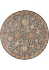 Capel Rugs Creative Concepts Cane Wicker - Canvas Linen (175) Octagon 12' x 12' Area Rug