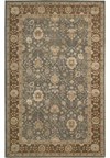 Capel Rugs Creative Concepts Cane Wicker - Bandana Indigo (465) Octagon 12' x 12' Area Rug