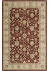 Capel Rugs Creative Concepts Cane Wicker - Canvas Jockey Red (527) Octagon 12' x 12' Area Rug