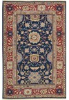 Capel Rugs Creative Concepts Cane Wicker - Coral Cascade Avocado (225) Runner 2' 6