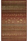 Capel Rugs Creative Concepts Cane Wicker - Shadow Wren (743) Rectangle 4' x 4' Area Rug