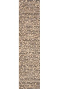 Capel Rugs Creative Concepts Cane Wicker - Vera Cruz Coal (350) Rectangle 7' x 9' Area Rug