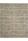 Capel Rugs Creative Concepts Cane Wicker - Down The Lane Ebony (370) Rectangle 7' x 9' Area Rug