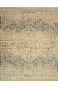 Capel Rugs Creative Concepts Cane Wicker - Shoreham Spray (410) Rectangle 7' x 9' Area Rug