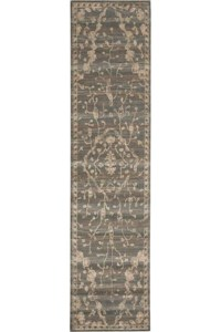 Capel Rugs Creative Concepts Cane Wicker - Paddock Shawl Indigo (475) Rectangle 7' x 9' Area Rug