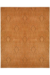 Capel Rugs Creative Concepts Cane Wicker - Tuscan Vine Adobe (830) Rectangle 7' x 9' Area Rug