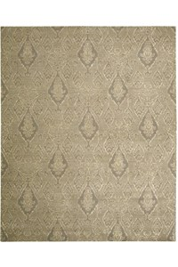 Capel Rugs Creative Concepts Cane Wicker - Canvas Persimmon (847) Rectangle 7' x 9' Area Rug