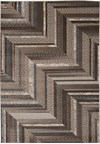 Capel Rugs Creative Concepts Cane Wicker - Cayo Vista Graphic (315) Rectangle 10' x 10' Area Rug