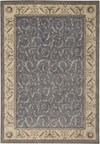 Capel Rugs Creative Concepts Cane Wicker - Canvas Brass (180) Rectangle 10' x 14' Area Rug
