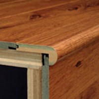 "Armstrong Premium Lustre: Flush Stair Nose Blizzard Pine - 94"" Long"