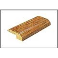 "Mannington Trade Winds Collection:  Canelo Teak Plank Natural Baby Threshold - 84"" Long"