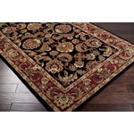 "Surya Ancient Treasures Jet Black (A-108) Rectangle 2'0"" x 3'0"""
