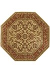 Surya Ancient Treasures Biscotti (A-111) Octagon 8'0