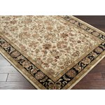 "Surya Ancient Treasures Jet Black (A-116) Square 1'6"" x 1'6"""