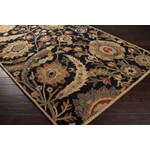 "Surya Ancient Treasures Coal Black (A-154) Rectangle 2'0"" x 3'0"""