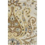 "Surya Ancient Treasures Oatmeal (A-165) Rectangle 2'0"" x 3'0"""