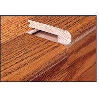 "Mohawk Tescott: Stair Nose Maple Black - 84"" Long"