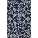 "Surya Beth Lacefield Alameda Sapphire Blue (AMD-1005) Rectangle 5'0"" x 8'0"""