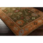 "Surya Anastacia Spruce Green (ANA-8409) Rectangle 2'0"" x 3'0"""